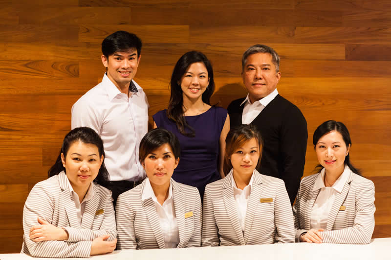 The team at David Loh Surgery, Singapore