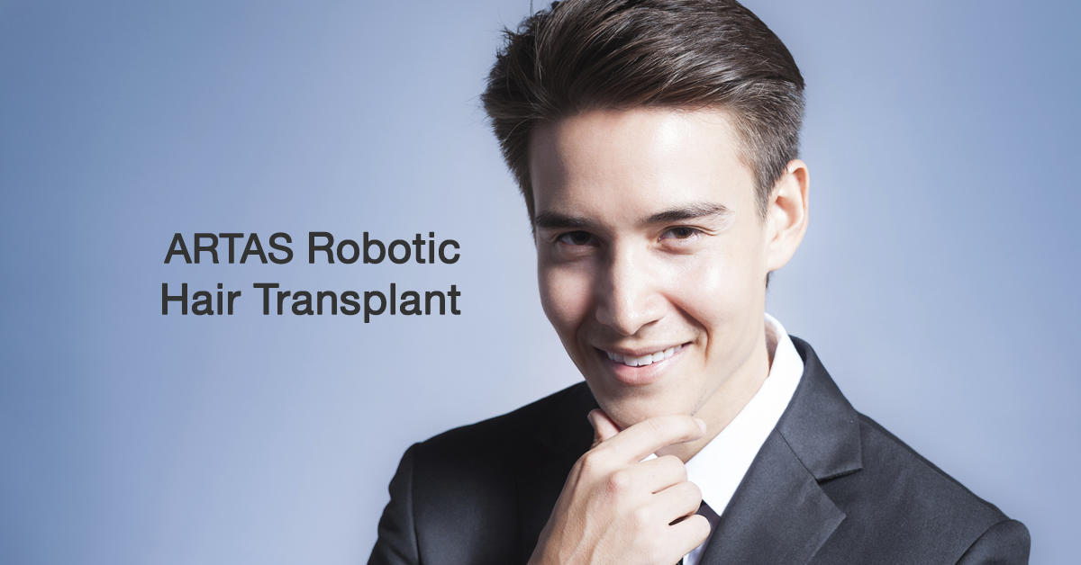 Robotic Hair Transplant by Dr Phoon Yi Shan