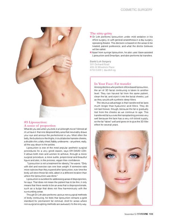 Dr David Loh on Liposuction