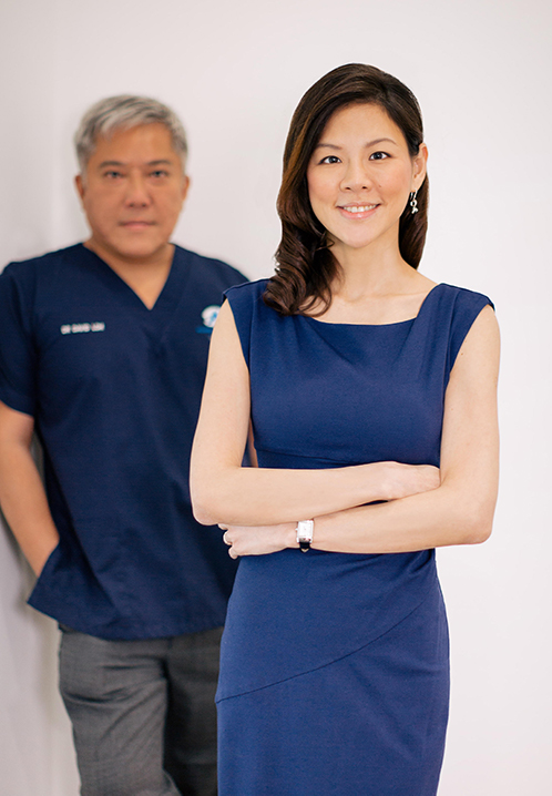 Dr David Loh and Dr Phoon Yi Shan